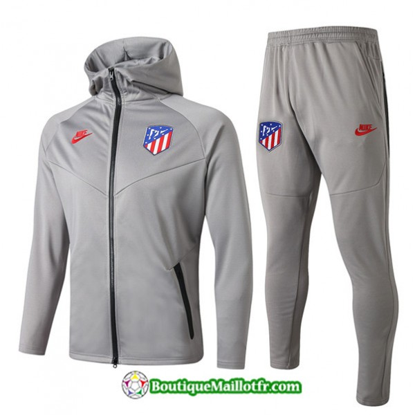 Survetement Sweat à Capuche Atletico Madrid 2019 ...