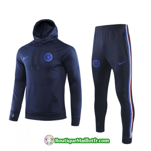 Survetement Sweat à Capuche Chelsea 2019 2020 Ens...