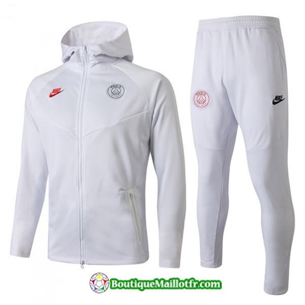 Survetement Sweat à Capuche Psg 2019 2020 Ensembl...