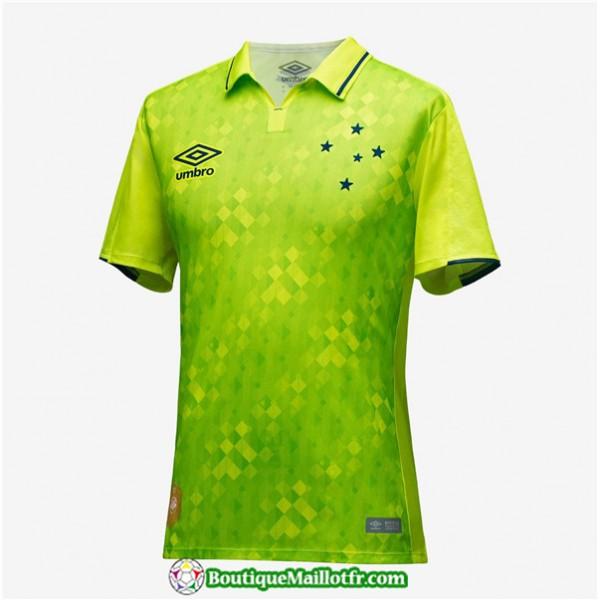 Maillot Cruzeiro 2019 2020 Third Vert