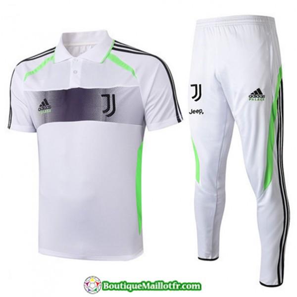 Maillot Entraînement Juventus 2019 2020 Blanc