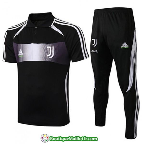 Maillot Entraînement Juventus 2019 2020 Noir/blan...