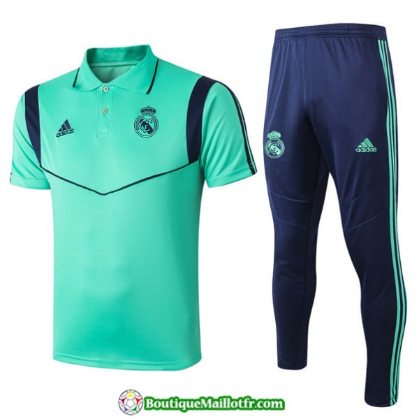 Maillot Entraînement Real Madrid 2019 2020 Polo V...