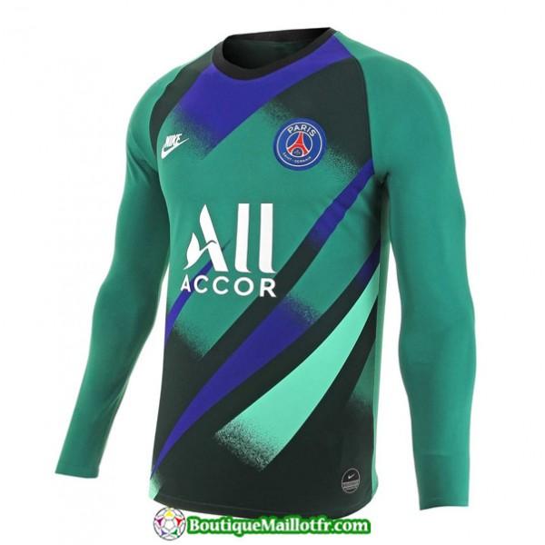 Maillot Paris Saint Germain 2019 2020 Gardien De But Domicile Vert