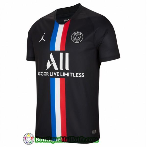 Maillot Paris Saint Germain 2019 2020 Noir