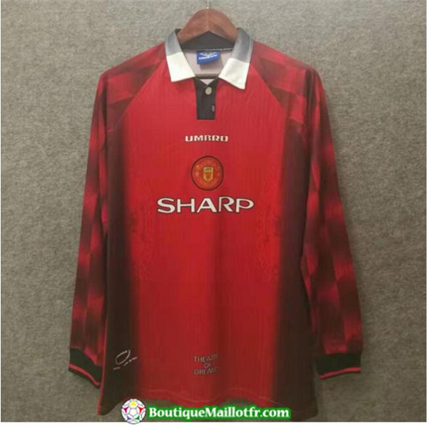 Maillot Retro Manchester United 1996