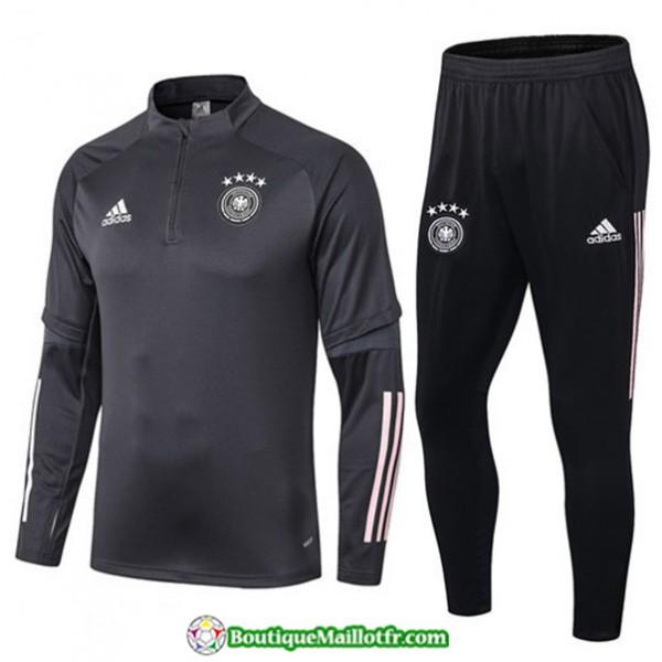 Survetement Allemagne 2019 2020 Ensemble Gris/noir...