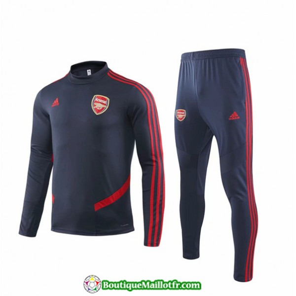 Survetement Arsenal 2019 2020 Ensemble Bleu Marine...