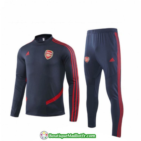 Survetement Arsenal Enfant 2019 2020 Ensemble Bleu...