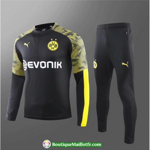 Survetement Borussia Dortmund Enfant 2019 2020 Ens...