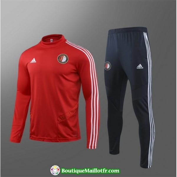 Survetement Feyenoord Enfant 2019 2020 Ensemble Ro...