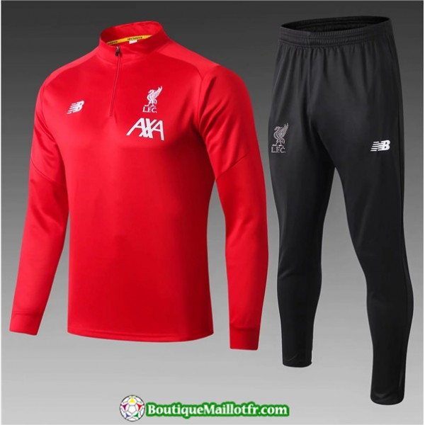 Survetement Liverpool Enfant 2019 2020 Ensemble Ro...