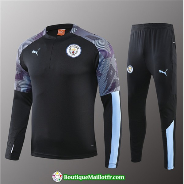 Survetement Manchester City Enfant 2019 2020 Ensem...