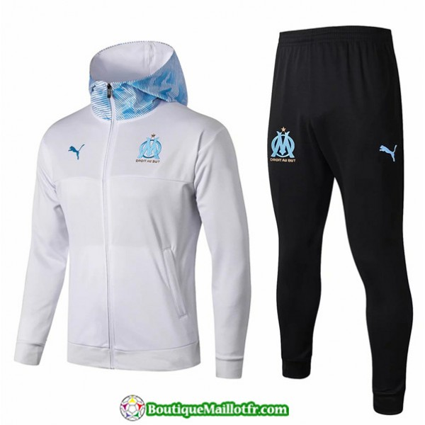 Survetement Sweat à Capuche Marseille 2019 2020 E...