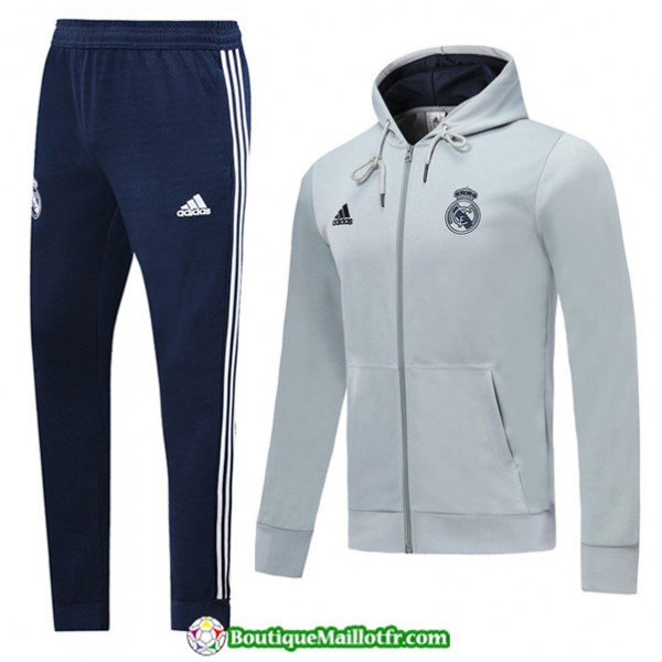 Survetement Sweat à Capuche Real Madrid 2019 2020...