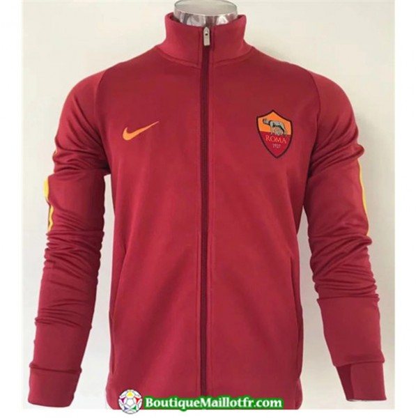 Veste De Foot As Roma 2019 2020 Rouge