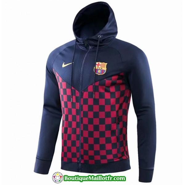 Veste De Foot Barcelone 2019 2020 à Capuche Rouge...