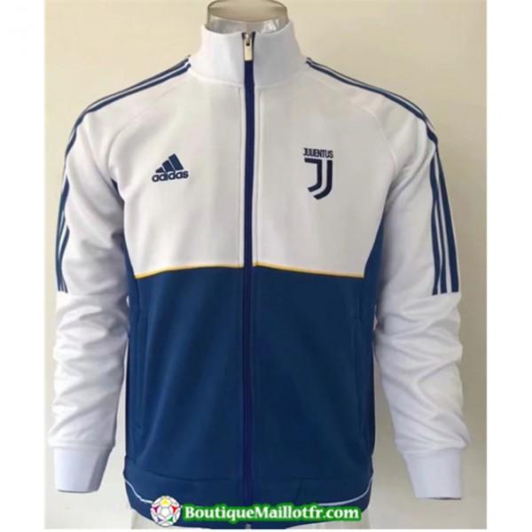 Veste De Foot Juventus 2019 2020 Blanc/bleu