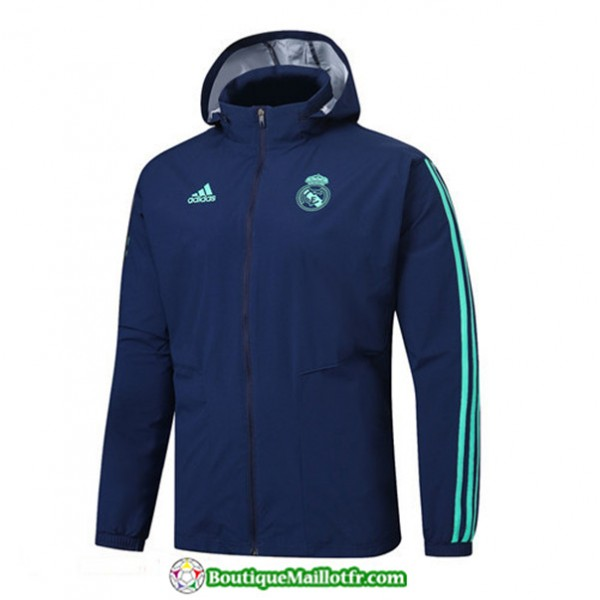 Veste De Foot Real Madrid 2019 2020 Coupe Vent à ...