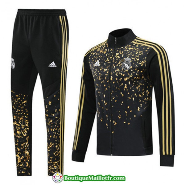 Veste Survetement Real Madrid 2019 2020 Ensemble E...