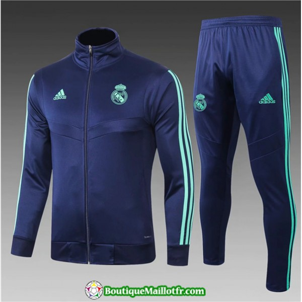 Veste Survetement Real Madrid Enfant 2019 2020 Ens...