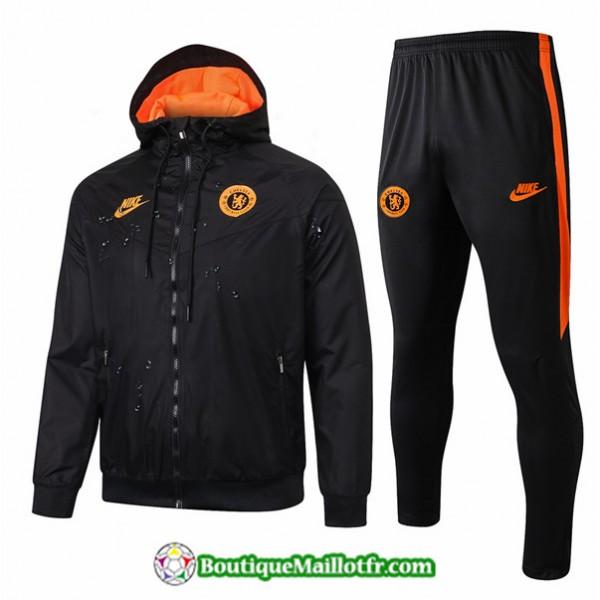 Coupe Vent Chelsea 2019 2020 Ensemble Noir/orange