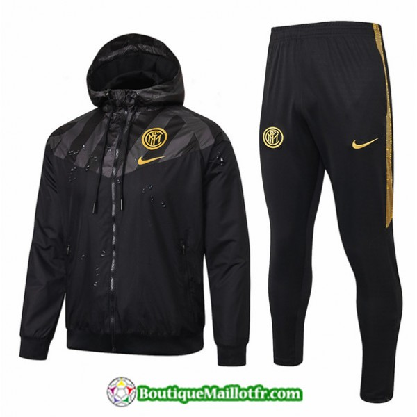 Coupe Vent Inter Milan 2019 2020 Ensemble Noir/jau...