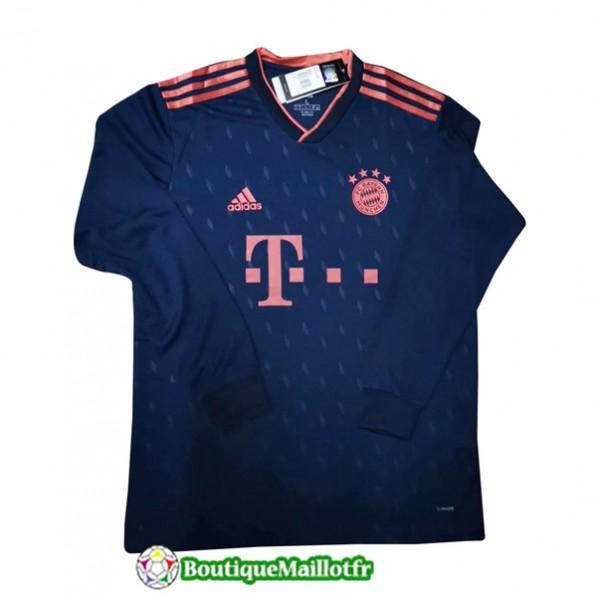 Maillot Bayern Munich 2019 2020 Third Manche Longu...
