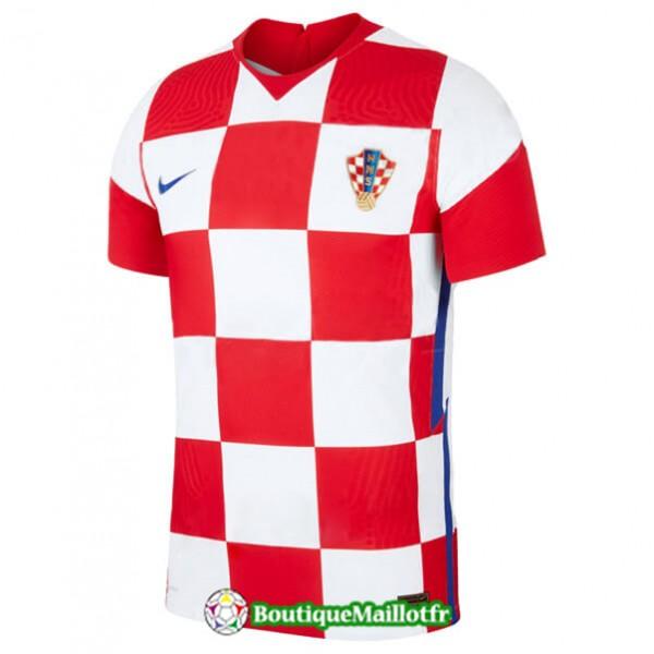 Maillot Croatie 2020 2021 Domicile