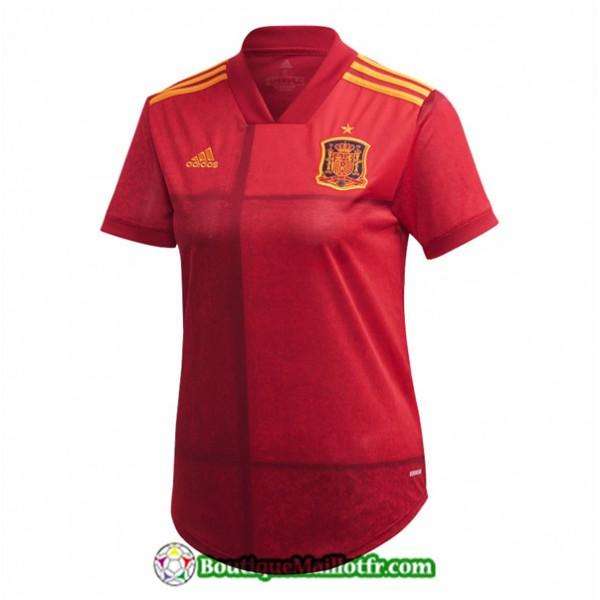Maillot Espagne Femme Euro 2020 2021 Domicile