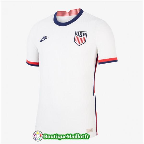 Maillot Etats Unis 2020 2021 Domicile Blanc