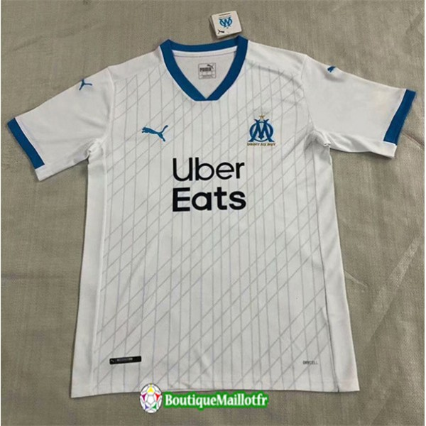 Maillot Marseille 2020 2021 Blanc