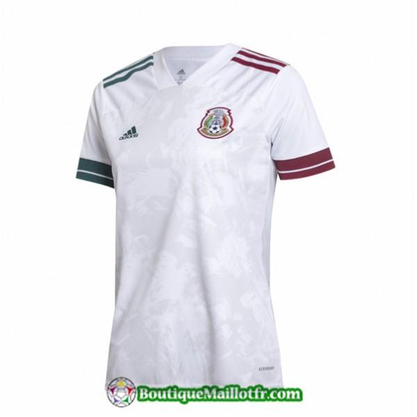 Maillot Mexique Femme 2020 2021 Blanc
