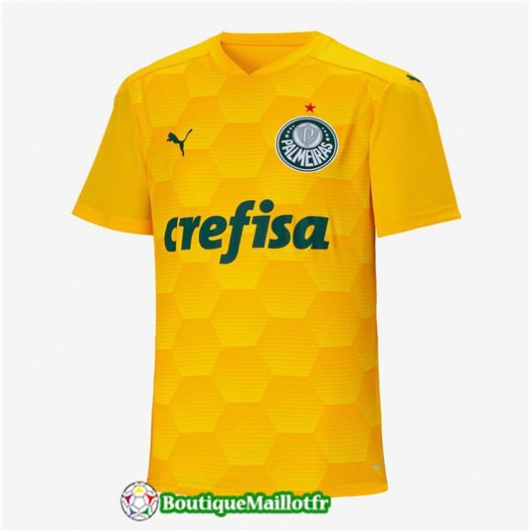 Maillot Palmeiras 2020 2021 Domicile Gardien De Bu...