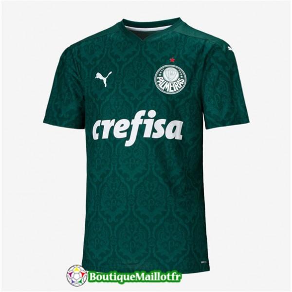 Maillot Palmeiras 2020 2021 Domicile Vert