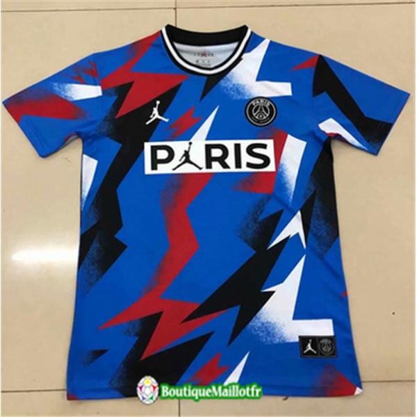 Maillot Paris Saint Germain 2020 2021 Pre Match Bl...