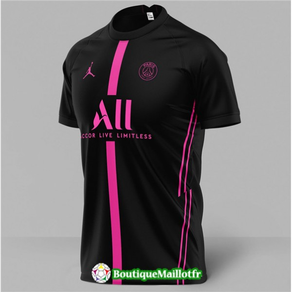Maillot Paris Saint Germain Jordan 2020 2021 4ème...