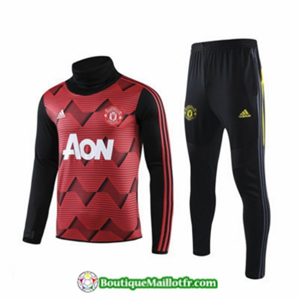 Survetement Manchester United 2019 2020 Ensemble R...