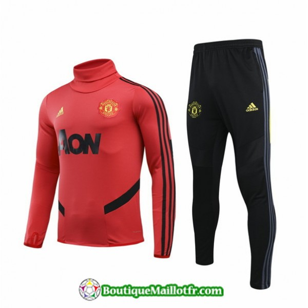 Survetement Manchester United Enfant 2019 2020 Ens...