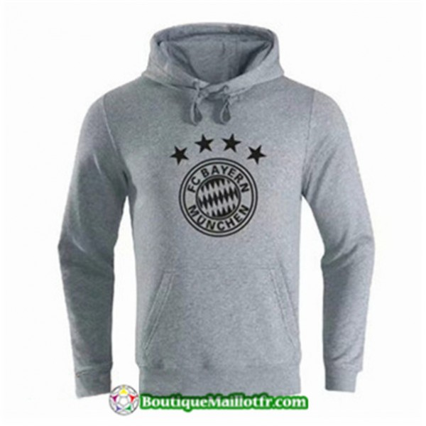 Sweat à Capuche Bayern Munich 2019 2020 Gris