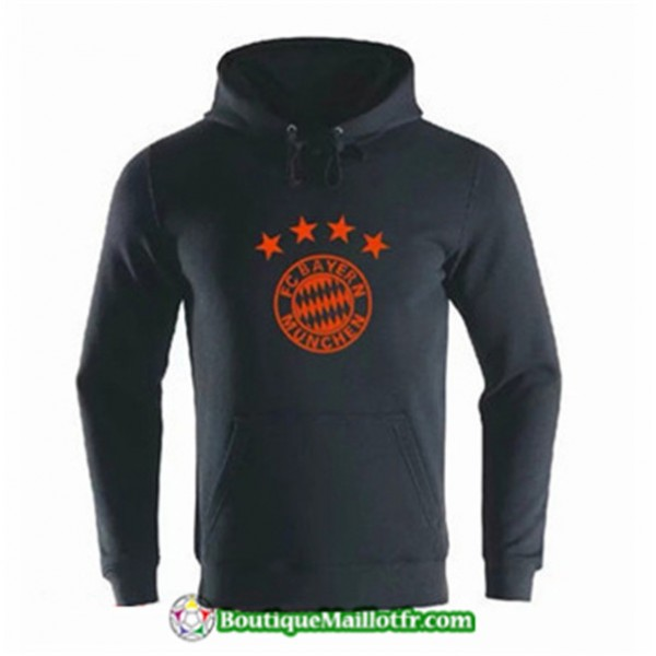 Sweat à Capuche Bayern Munich 2019 2020 Noir