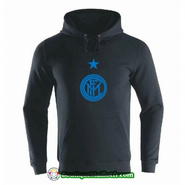 Sweat à Capuche Inter Milan 2019 2020 Noir