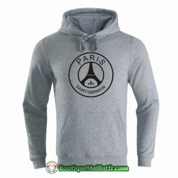Sweat à Capuche Paris Saint Germain 2019 2020 Gri...