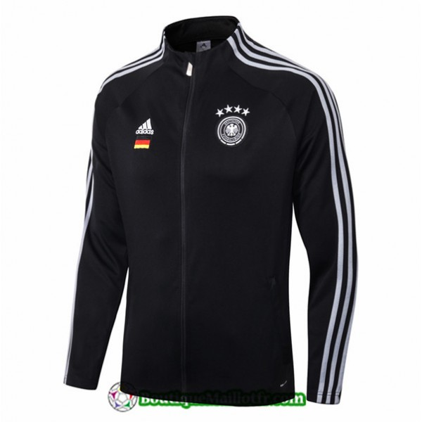 Veste De Foot Allemagne 2019 2020 With Sponsor Noi...