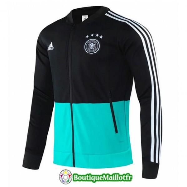 Veste De Foot Allemagne 2020 2021 Noir/vert
