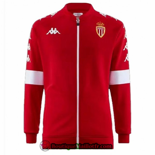 Veste De Foot As Monaco 2019 2020 Rouge