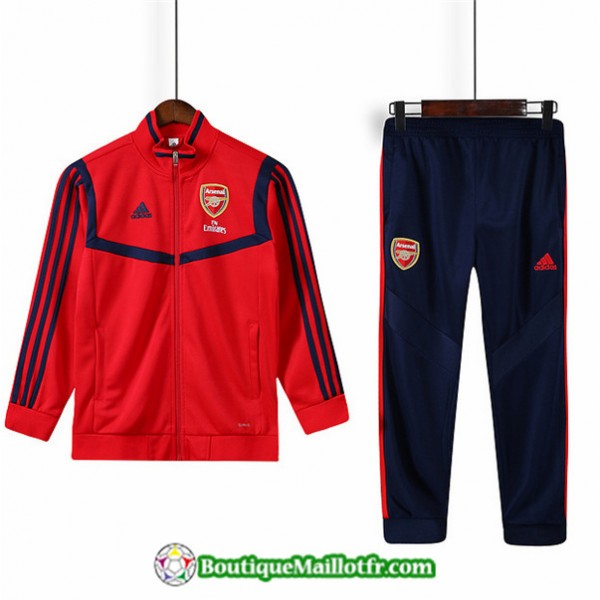 Veste Survetement Arsenal Enfant 2019 2020 Ensembl...