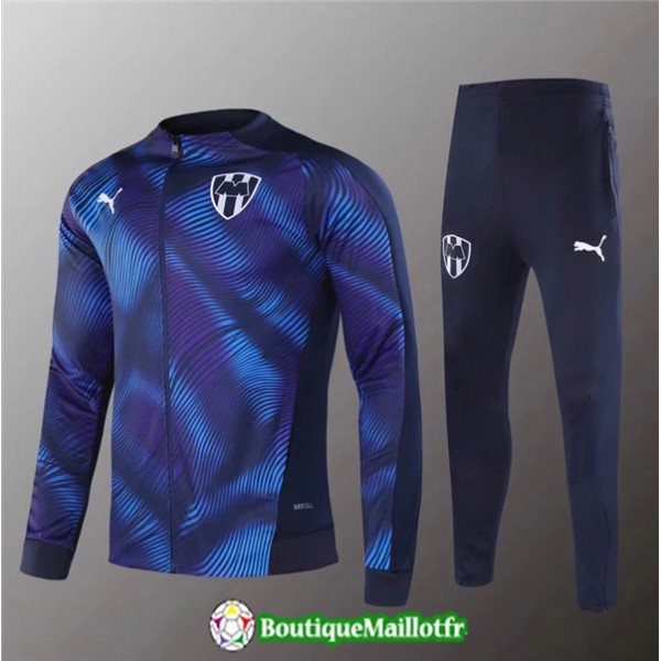 Veste Survetement Monterrey 2020 2021 Ensemble Ble...