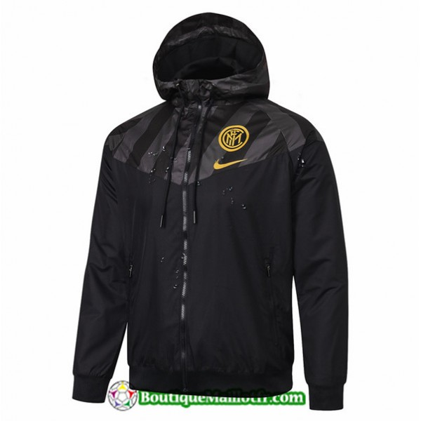 Veste De Foot Inter Milan 2019 2020 Coupe Vent Noi...