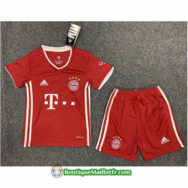 Maillot Bayern Munich Enfant 2020 2021 Domicile